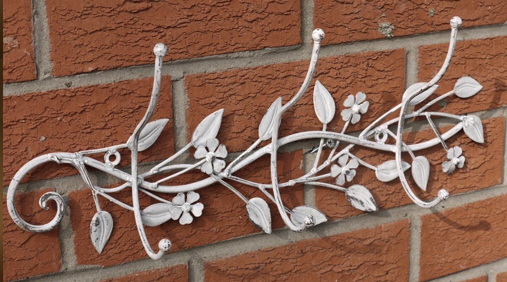 D co murale fer forge exterieure for Decor mural exterieur fer forge