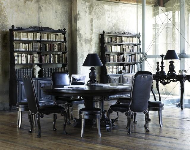 belle déco salle à manger baroque - Photo Déco