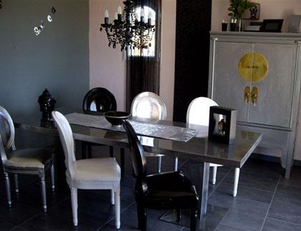 déco salle à manger baroque - Photo Déco