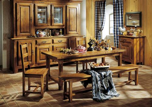 aménagement déco salle à manger rustique - Decoration Salle A Manger Rustique