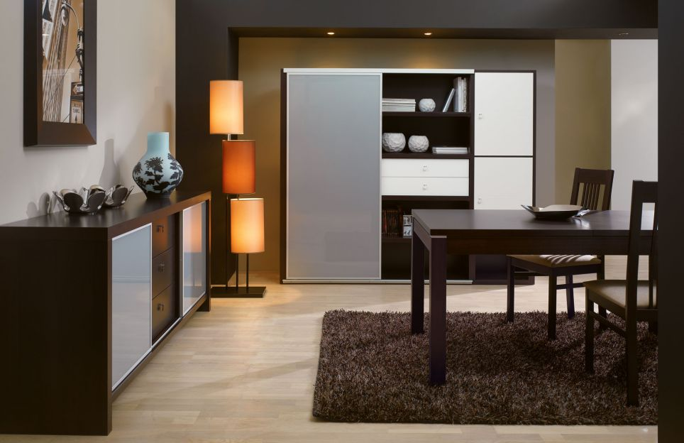 d co salle a manger wenge. Black Bedroom Furniture Sets. Home Design Ideas