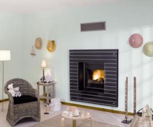 décoration cheminée contemporaine