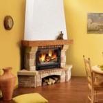décoration poele cheminée