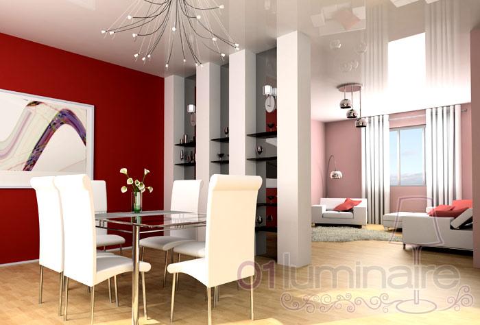 Cuisine salle manger cuisine salle mangers - Suspension salle a manger design ...