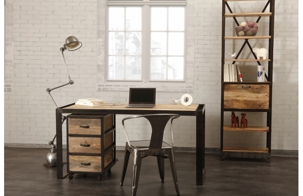 Id e d co bureau homme for Idee decoration bureau maison