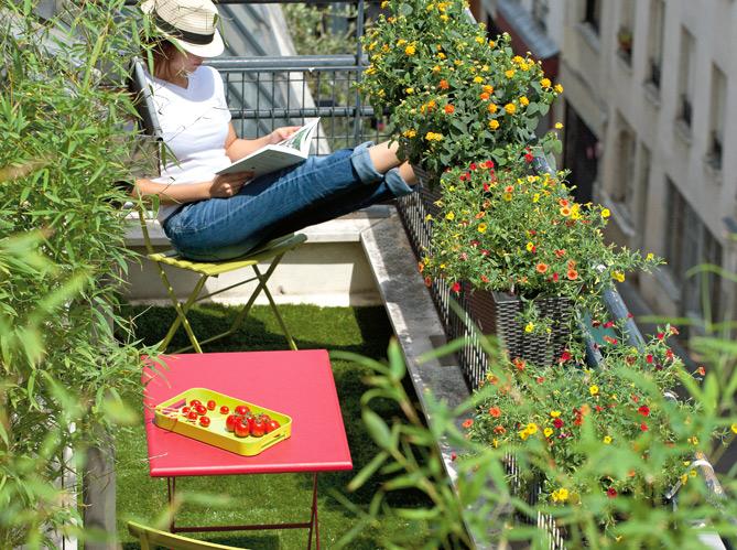 déco balcon facile