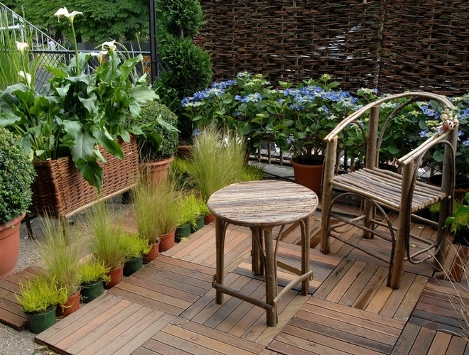 D co idee jardin terrasse for Photo decoration jardin