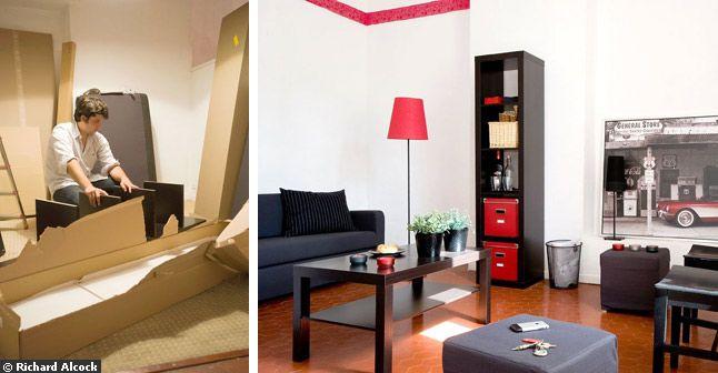 d co id e studio 23m2. Black Bedroom Furniture Sets. Home Design Ideas