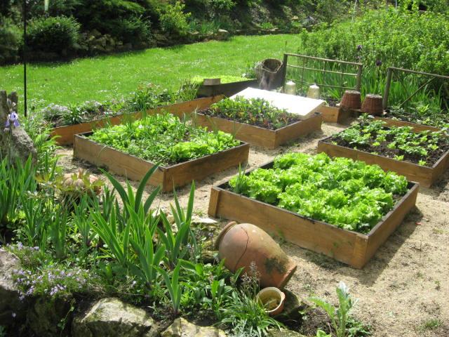 déco jardin potager