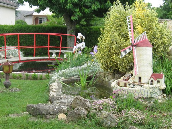 D co moulin a vent jardin - Moulin a vent decoratif ...