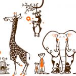 déco murale animaux