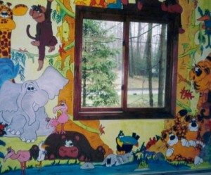 D co murale animaux for Decoration murale animaux