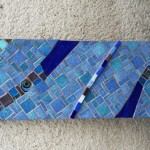déco murale bleu