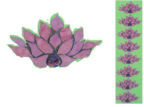 déco murale fleur