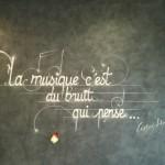 déco murale theme musique