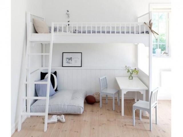 d co petite chambre avec mezzanine. Black Bedroom Furniture Sets. Home Design Ideas