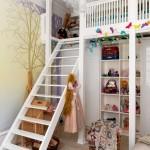 décoration idée petite mezzanine