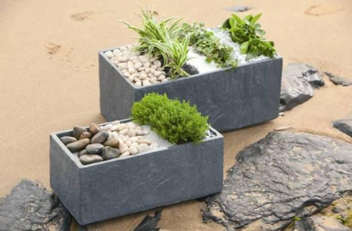 D coration jardin avec galets for Amenagement jardin avec galets