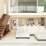 décoration mezzanine salon