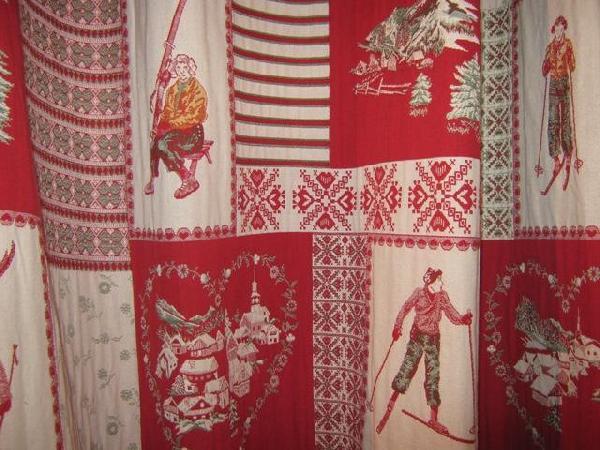 D coration rideau montagne for Decoration montagne