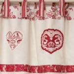 décoration rideaux chalet