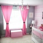décoration rideaux chambre bebe