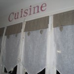 décoration rideaux de cuisine