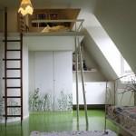 déco chambre ado avec mezzanine