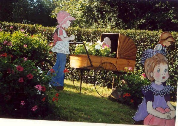 D co jardin bois - Deco jardin bois exterieur ...
