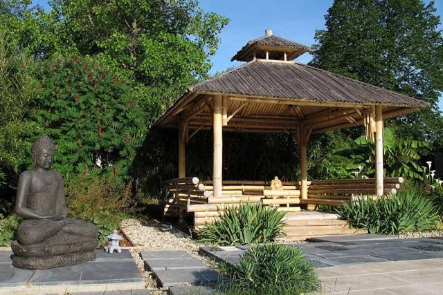 D co jardin bois exterieur - Deco jardin bois exterieur ...