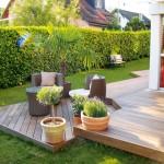 déco jardin bois exterieur