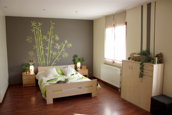 D co murale chambre zen for Decoration murale chambre
