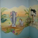 déco murale jungle