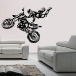 déco murale moto