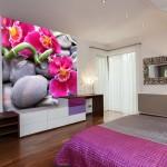 déco murale orchidee