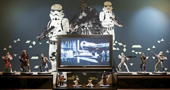 déco murale theme cinema