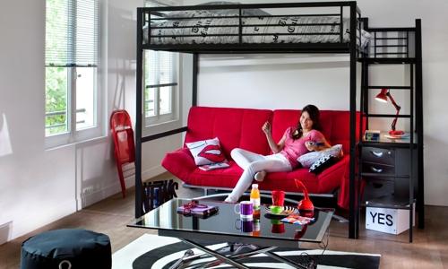 décoration idée studio fille