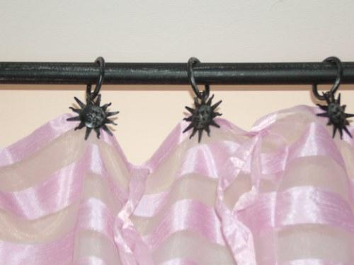 décoration pinces a rideaux deco