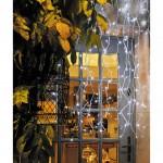 décoration rideau de noel