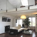 décoration sejour mezzanine