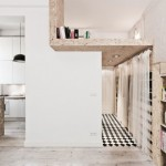décoration studio avec mezzanine