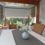 décoration veranda rideau