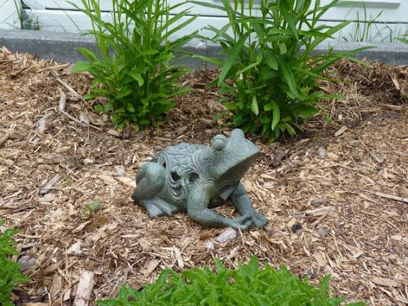 d u00e9co jardin grenouille