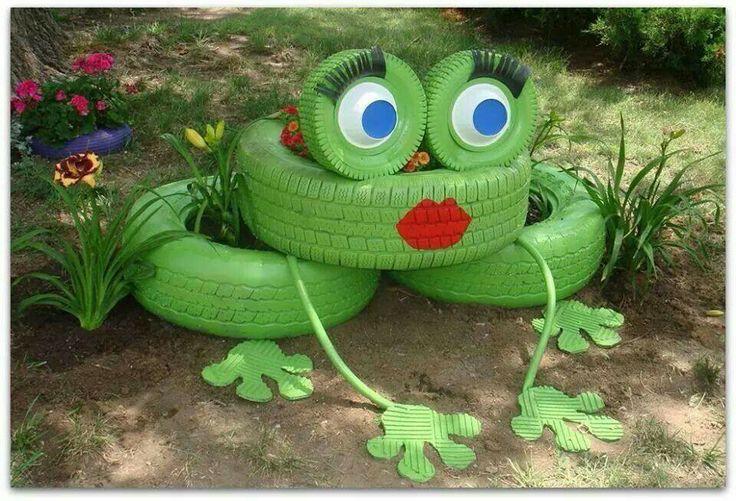 D co jardin grenouille for Photo decoration jardin