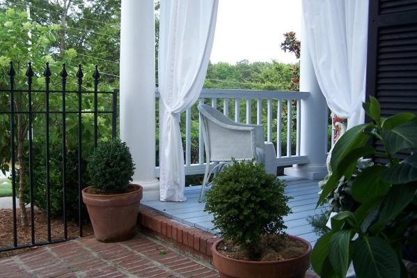 déco rideau terrasse