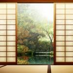 décoration rideaux japonais