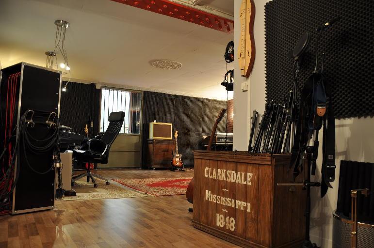 décoration studio musique