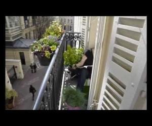déco balcon étroit