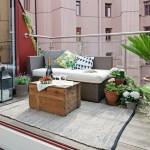 déco balcon hiver