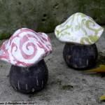 Photo déco jardin champignon